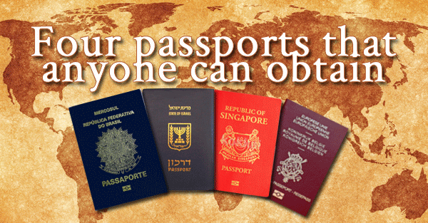 Four valuable passports that anyone can obtain sovereign man ccuart Images