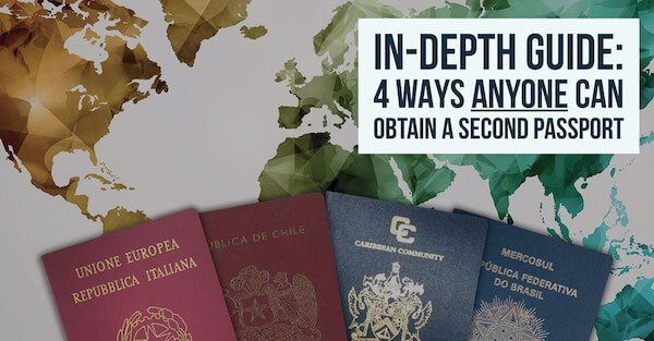 Four Ways ANYONE Can Obtain A Second Passport