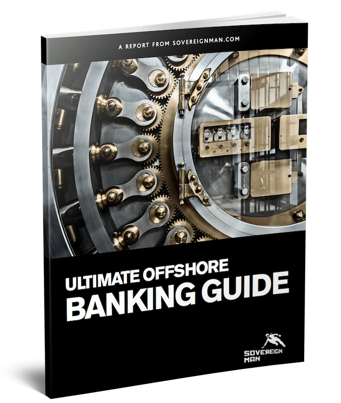 Ultimate Offshore Banking Guide Cover