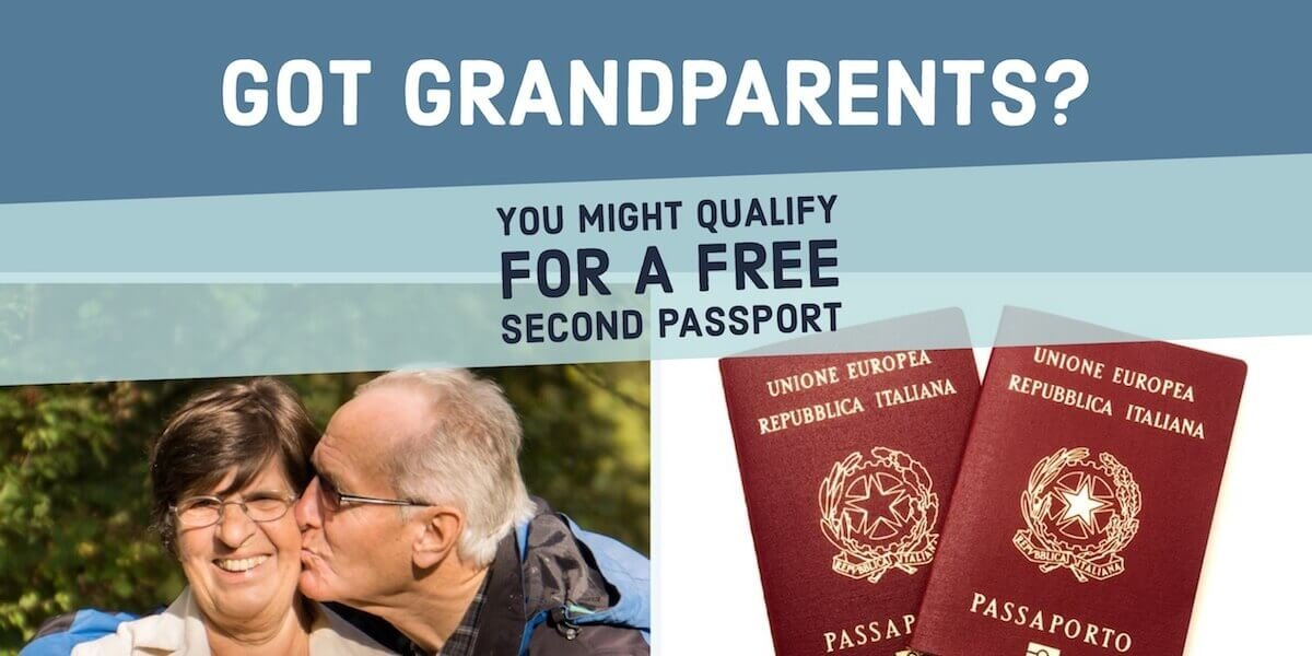 Got Grandparents Get Citizenship By Descent In Sovereign Man