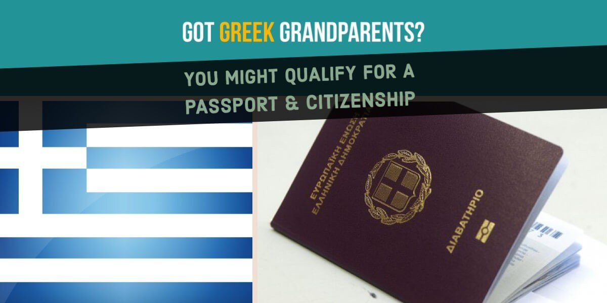 Greek Citizenship By Descent & Ancestry